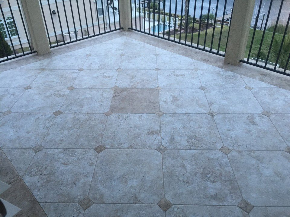 patio tile myrtle beach